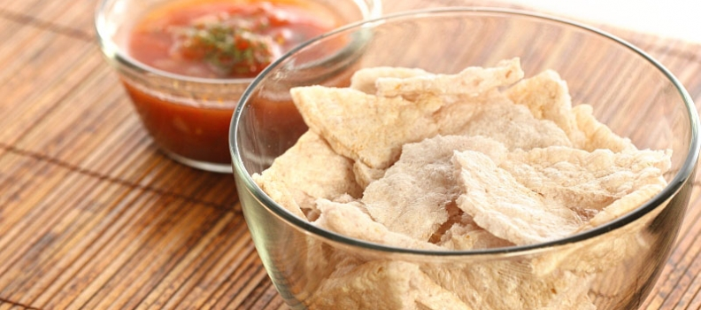 Multigrain nacho snacks